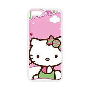 iPhone 6 Plus 5.5 Inch Cell Phone Case White Hello Kitty Winter Wonderland Sszem