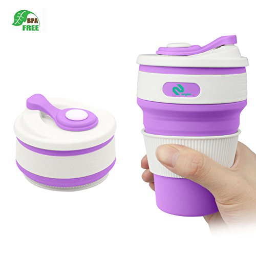 Eliten Collapsible Travel Cup -BPA FREE Food-grade...