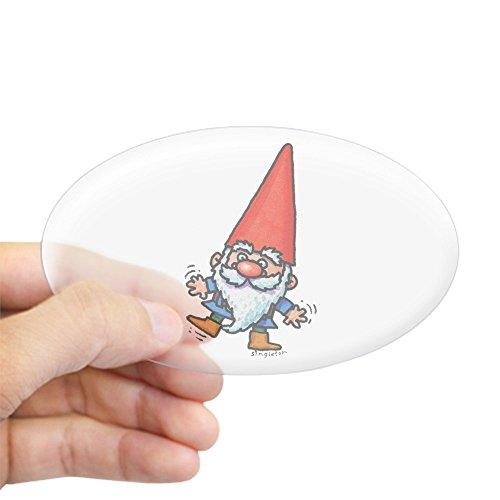 Gnomes Sticker - CafePress GNOME Sticker Oval Bumper Sticker, Euro Oval Car Decal