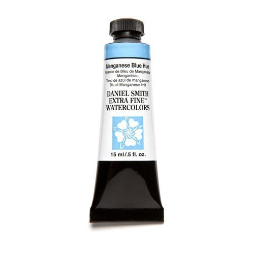 Daniel Smith Series (Manganese Blue Hue Series 1, 15ml Tube Daniel Smith Extra Fine Watercolour by Daniel Smith)