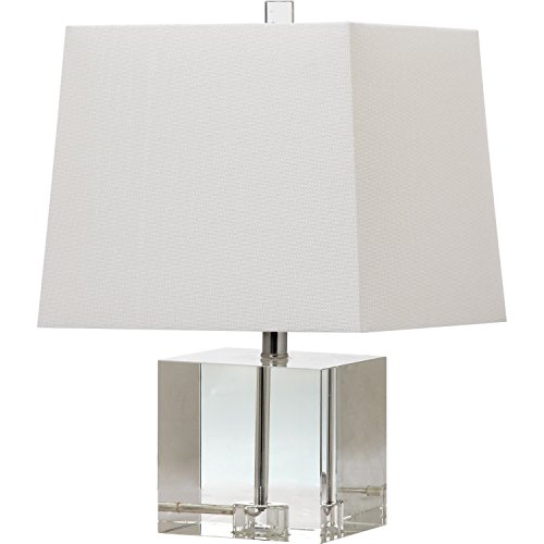 Safavieh Lighting Collection Mckinley Clear 19-inch Table Lamp