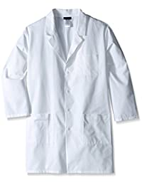 Cherokee Men's Big-Tall Professional with Plus 40 Inch Unisex Lab Coat