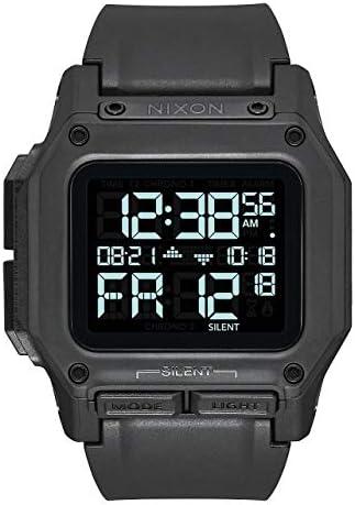 Nixon Regulus Men s Water and Shock Resistant Digital Watch. 46mm. Locking Looper Band