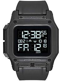 Regulus All Black Mens Water and Shock Resistant Digital Watch. (46mm. Black Digital