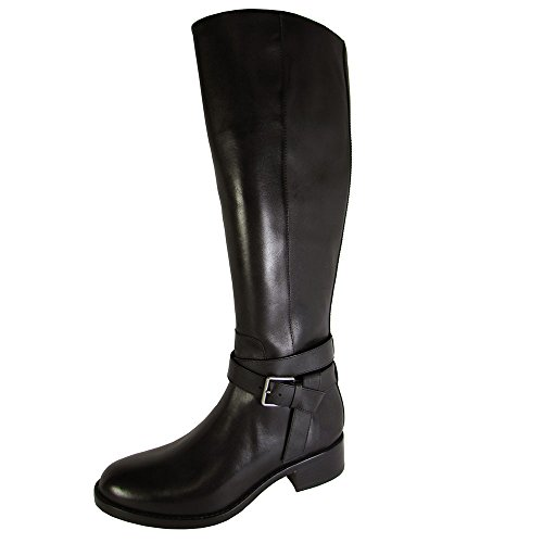 - Cole Haan Women's Briarcliff Boot Black Leather Boot 5.5 B (M)