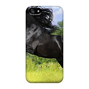 [BbKCPfh2805nqfTy]premium Phone Case For Iphone 5/5s/ Horse Desktop Wallpaper 91 Tpu Case Cover by lolosakes