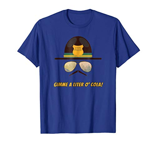Gimme A Liter O' Cola Funny Cop Humor T-Shirt