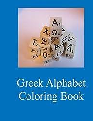 Greek Alphabet Coloring Book