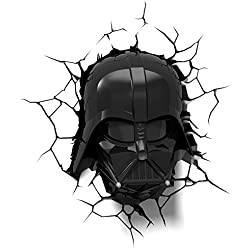 3DLightFX Star Wars Darth Vader Helmet 3D Deco Light