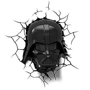 Amazon Com 3dlightfx Star Wars Darth Vader Helmet 3d Deco Light