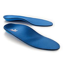 Powerstep Pinnacle Full Length Orthotics (E - Men\'s 8-8.5/Women\'s 10-10.5 Shoe)
