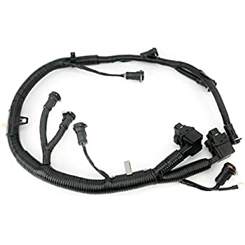 ficm engine fuel injector complete wire harness - replaces part 5c3z9d930a  - fits ford powerstroke 6 0