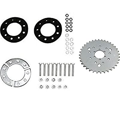Multifunctional High performance 36 teeth sprocket with Sprocket Installation Set -80CC Gas Motorized Bicycle