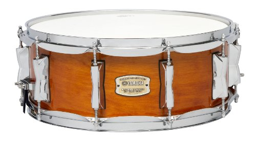 Yamaha Stage Custom Birch 14x5.5 Snare Drum, Honey Amber