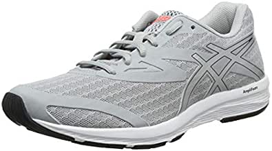 Asics Womens Amplica Running Shoes, Grey (Mid Grey/Silver),6 US,37 EU