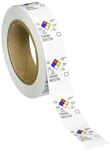 - Brady 121163 Blank Write-On Laboratory Labels