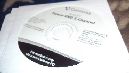 Gateway Cyberlink Power DVD 6.0 2-Channel Backup / Restore Disc