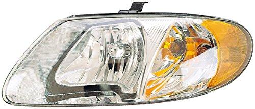 - Dorman 1590312 Driver Side Headlight Assembly For Select Chrysler / Dodge Models