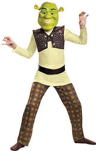BESTPR1CE Boys Halloween Costume-Shrek Classic Kids Costume Small -