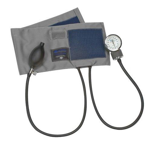 Sphygmomanometer Precision Series Aneroid (Mabis Dmi Healthcare 01-145-031 Precision Series Aneroid Sphygmomanometer - Adult, Blue)