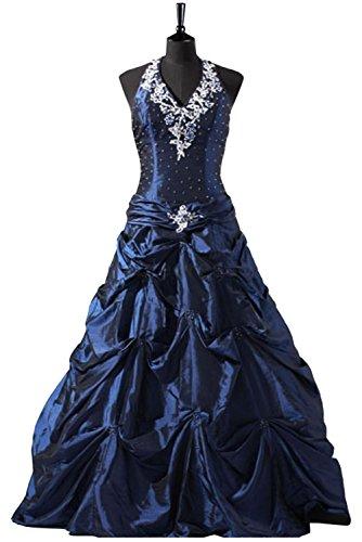 TOSKANA BRAUT -  Vestito  - linea ad a - Donna Blue - blu 34