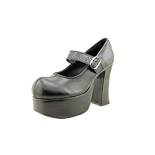 Pump Pleaser Blk Demonia By Leather Charade Women's Vegan 05 xqcaOCw