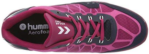 Damen St Sangria Pink Terrafly Mehrfarbig Fitnessschuhe Hummel w0BqEY