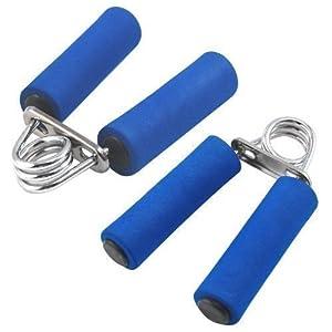 TRIXES 2 X Fingerhantel mit Federgriff für Bodybuilding zum Training der...