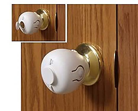 Amazon.com : Mommyu0027s Helper Door Knob Safety Cover : Indoor Safety Gates :  Baby
