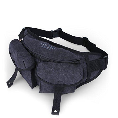 De Hombre Cámara al Bolsa lona Super Slr Carteras Pack Aire Hombres a Pecho Libre Versátil Casual Messenger A Bag RdACwHq