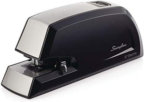 Swingline Electric Stapler, Commercial, Heavy Duty, 20 Sheet Capacity, Black (06701)