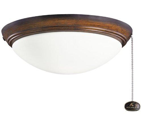 Kichler Lighting 380020MDW Ceiling Fan 2LT Wet Location L...