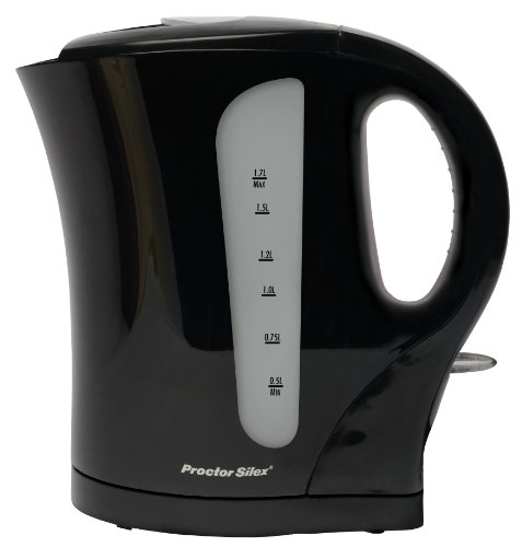 Proctor Silex - 1.7l Cordless Electric Kettle - Black