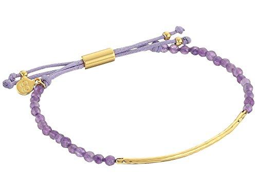 (Gorjana Power Gemstone Amethyst Bracelet for Tranquility 151020523GPKG)