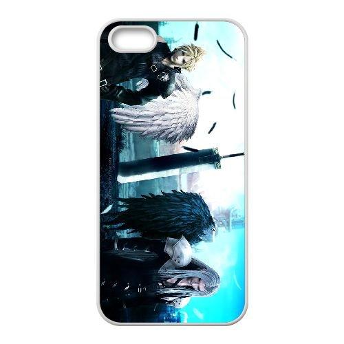Final Fantasy 025 coque iPhone 4 4S Housse Blanc téléphone portable couverture de cas coque EOKXLLNCD10765