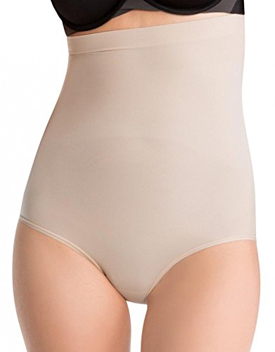 SPANX Women's Higher Power Panties Soft Nude MD