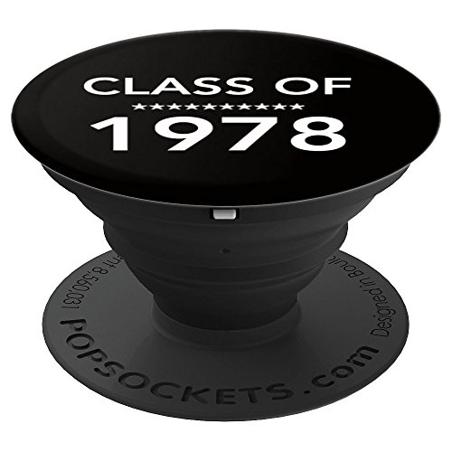 Class of 1978 40th High School Reunion Design Seniors '78 - PopSockets Grip and Stand for Phones and Tablets