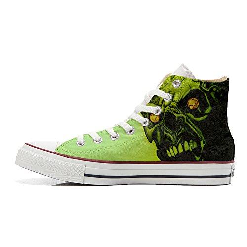 Horror Star Produkt All Handwerk Schädel Schuhe Converse personalisierte qZ0f55R