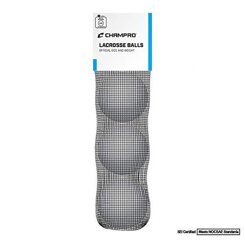 CHAMPRO NOCSAE Lacrosse Ball (3 Pack)