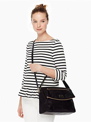 35b621d065875 Kate Spade New York Blake Avenue Lyndon Shoulder Bag Handbag Purse (Black)