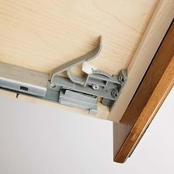 Amazon.com: Salice Futura a710.610 Undermount cajón Slide ...