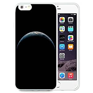 Unique and Attractive TPU Cell Phone Case Design with iOS 8 Planet Earth iPhone 6 plus 4.7 inch Wallpaper in White