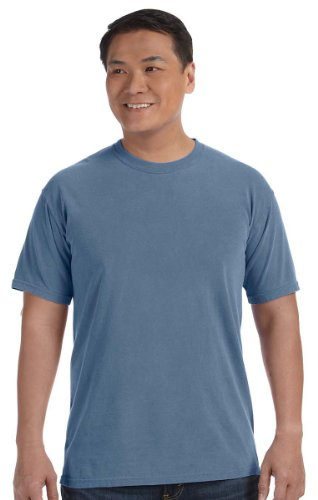 Comfort Colors Pigment-Dyed Short Sleeve Shirt X-Large Blue (Pigment Dyed Comfort Colors)