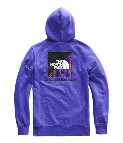 The North Face Men's Red Box Pullover Hoodie, Aztec Blue Heather/Aztec Blue 1992 Rage Print, XXL ()