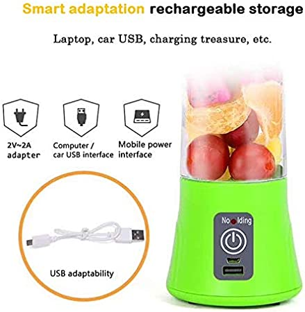 Batidora batidora exprimidora USB XLWYNG, taza de licuadora ...