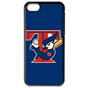 MLB Iphone 5C Black Toronto Blue Jays cell phone cases&Gift Holiday&Christmas Gifts NBGH6C9126730