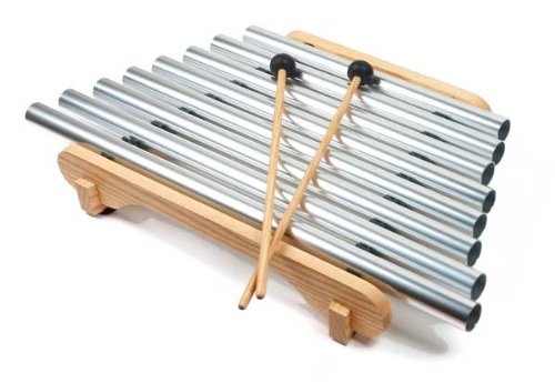Pipedream - Easy-to-Play Instrument, Eight Precision--Tuned tubes, includes Songbook - Os Tuned Pipe