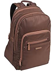 Traverlers Choice Beside-u Indianapolis Backpack Handbag, Brown Chestnut