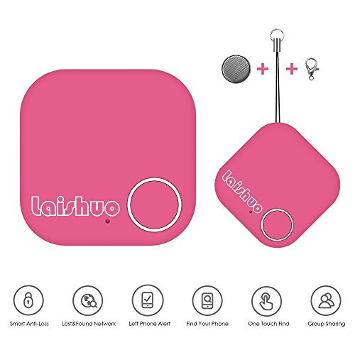 Bluetooth Tracker, Bluetooth keys Tracker, Bari Key Finder Tracking Wallet Key Bag Pet Dog Tracer Locator Alarm Patch GPS Locator for iOS/ iPhone/ iPod/ iPad/ Android