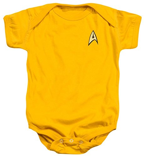 Infant: Star Trek- Command Uniform Infant Onesie Size 18 Mos]()